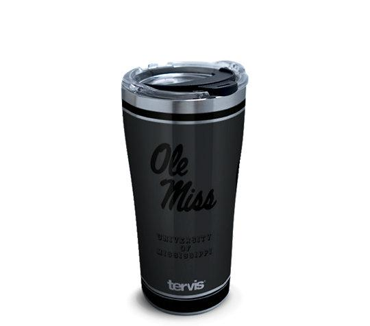 Ole Miss Rebels Blackout 20oz Stainless Steel