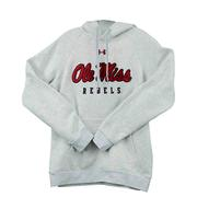 OLE MISS REBELS ALL DAY FLEECE HOOD