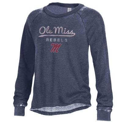 OLE MISS REBELS LAZY DAY PULLOVER