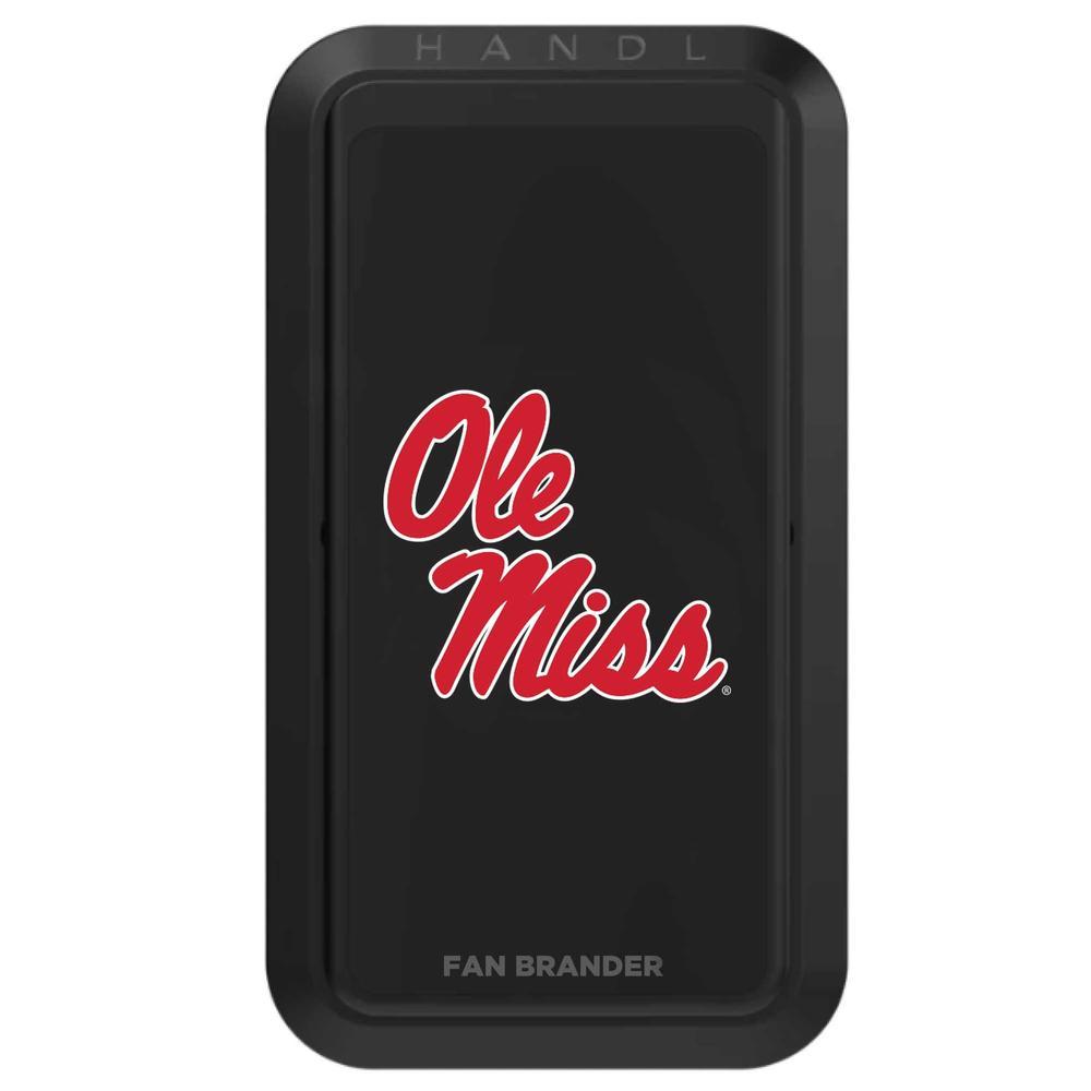 Handl Black Handlstick Case With Mississippi Ole Miss Primary Mark Design