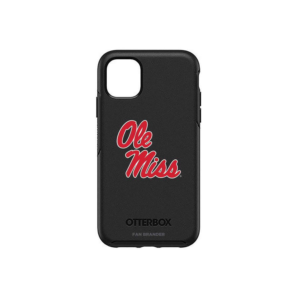 Otterbox Black Iphone 11 Symmetry Case With Mississippi Ole Miss Primary Mark Design