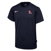 SS BOYS OLE MISS UV COACH TEE