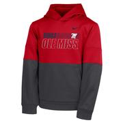 BOYS NIKE OLE MISS THERMA PO HOODY