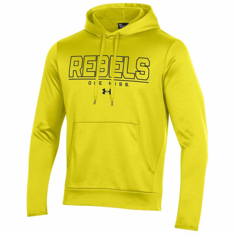 Ole Miss Rebels Armour Fleece Pullover Hood