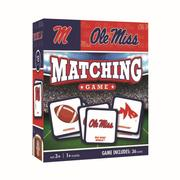 OLE MISS MATCHING GAME