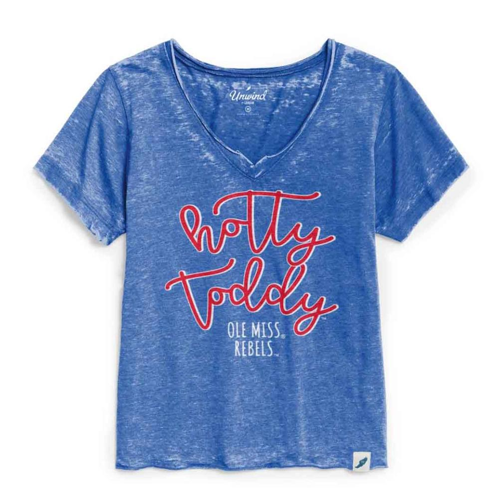 Hotty Toddy Womens Loose Fit V- Neck
