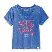 HOTTY TODDY WOMENS LOOSE FIT V-NECK