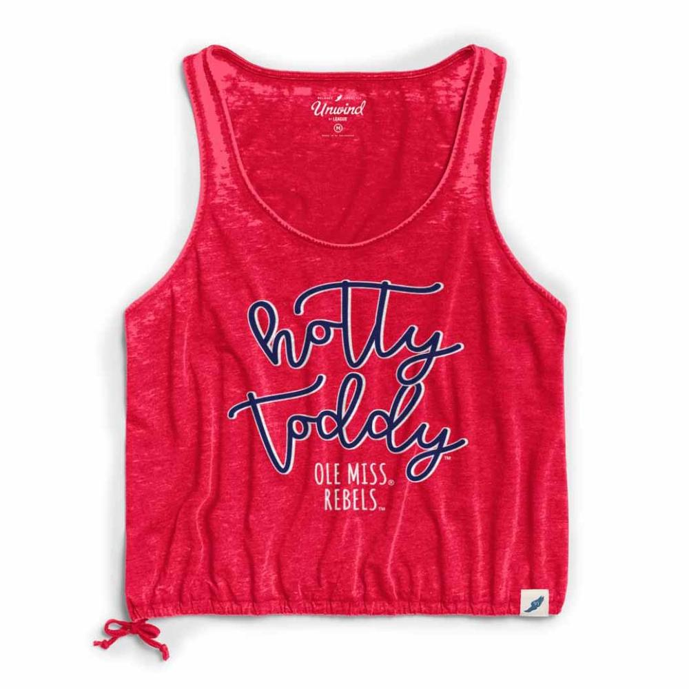 Hotty Toddy Womens Drawstring Tank