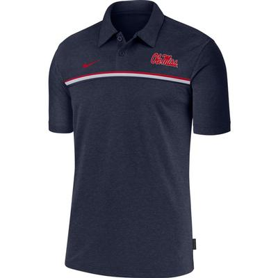 NIKE OLE MISS DRY POLO 2 NAVY