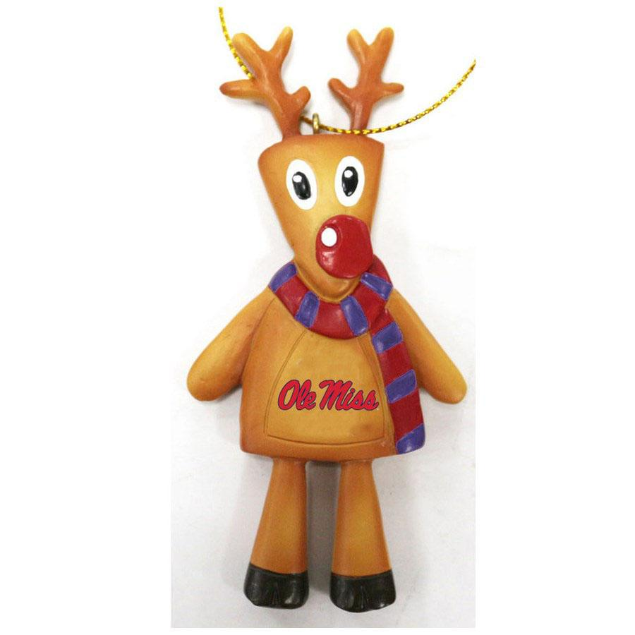 Ole Miss Rudolph Ornament