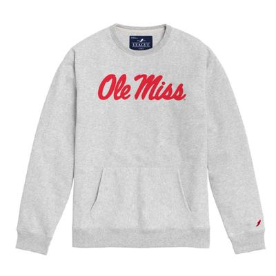 OLE MISS SCRIPT POCKET CREW