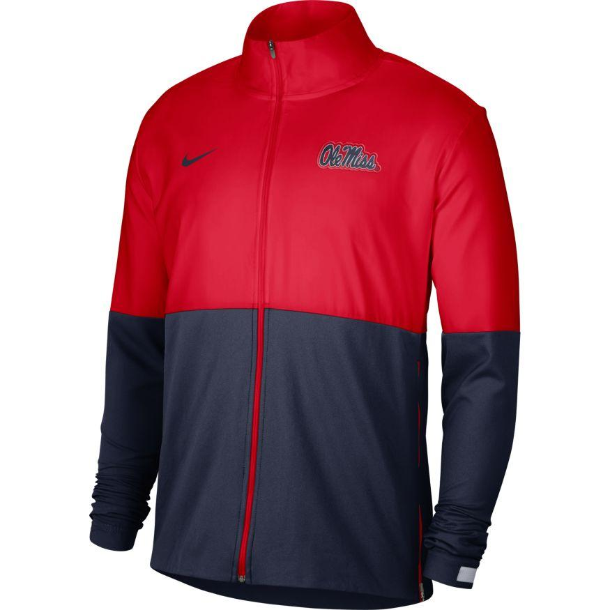 Ole Miss Woven Full Zip Jacket