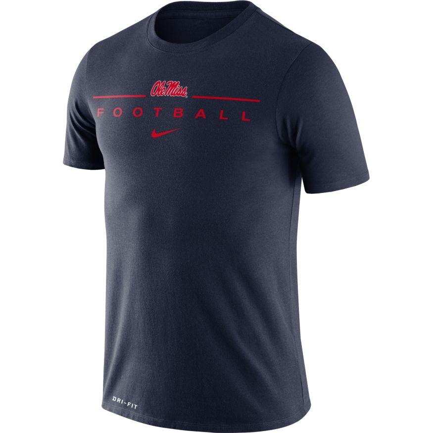 Ole Miss Dfct Icon Word Tee