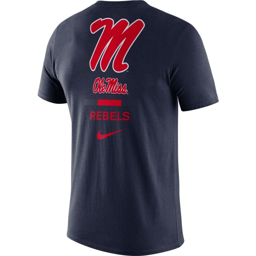 Ole Miss M Dfct Dna Tee