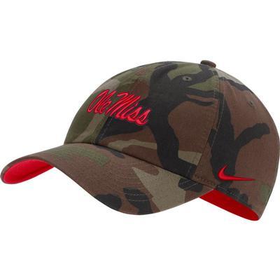 OLE MISS H86 CAMO CAP