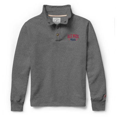 OLE MISS REBELS 1636 SNAP UP OXFORD