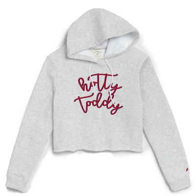 HOTTY TODDY CROPPED HOOD