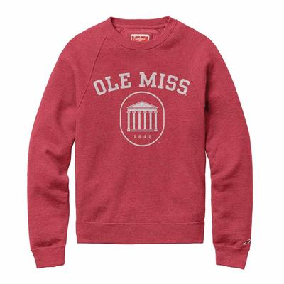 HERITAGE CLASSIC  OLE MISSLYCEUM CREW RED