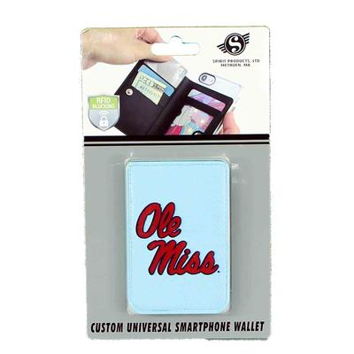 OLE MISS UNIVERSAL SMARTPHONE WALLET