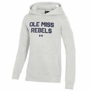 OLE MISS REBELS YOUTH ALL DAY FLEECE HOOD