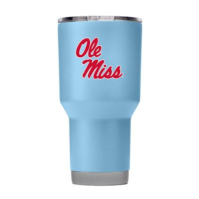 OLE MISS 30OZ TUMBLER WITH LID