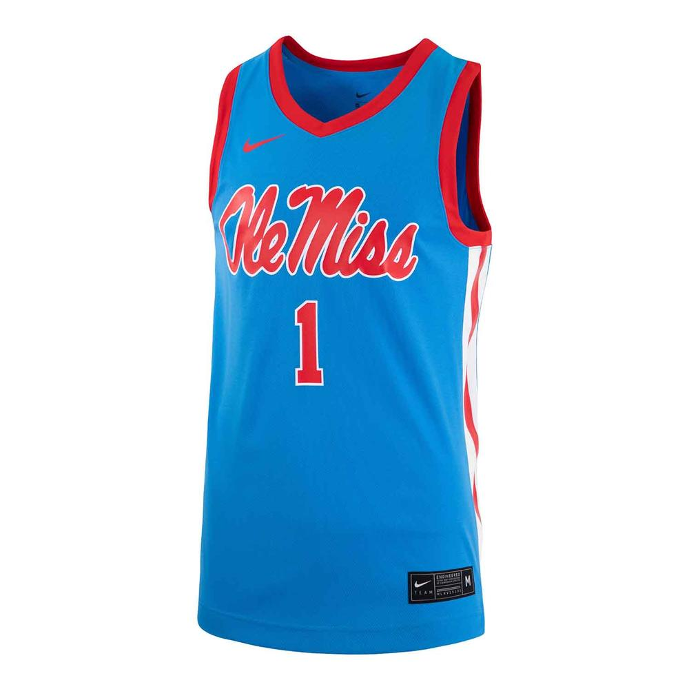 Ole Miss Basketball Replica 2020 Jersey