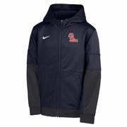 BOY OLE MISS THERMA FULL ZIP