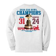 2020 EGG BOWL CHAMPIONS YOUTH LS TEE