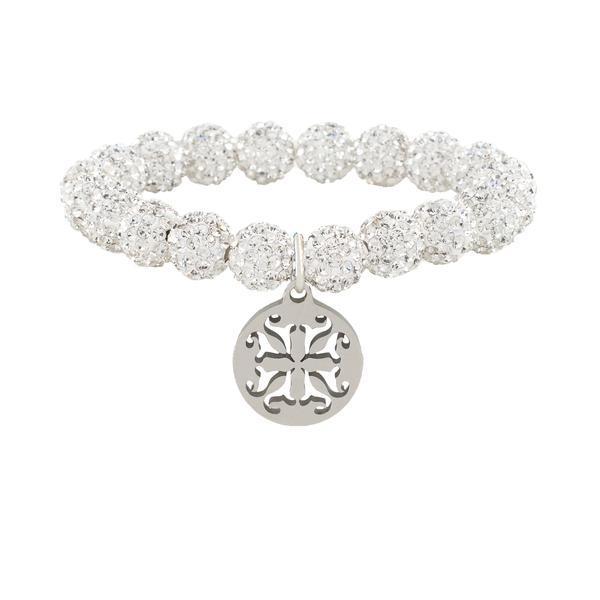 Emerson White Beaded Bracelet
