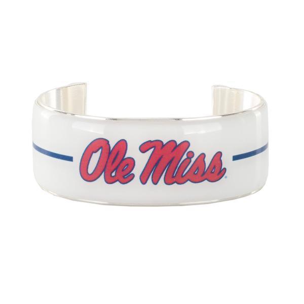 Ole Miss Art Deco 1 Inch Bracelet