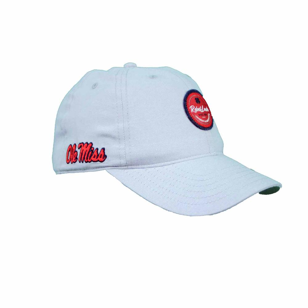 Ole Miss Oxford Adj Rebel Luck Cap