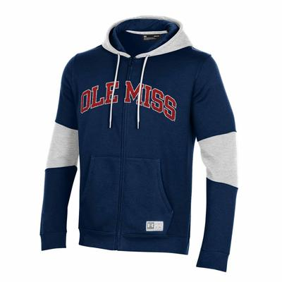 OLE MISS GAMEDAY TRAIN FULL ZIP HOOD
