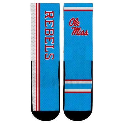 OLE MISS JERSEY SERIES SOCKS