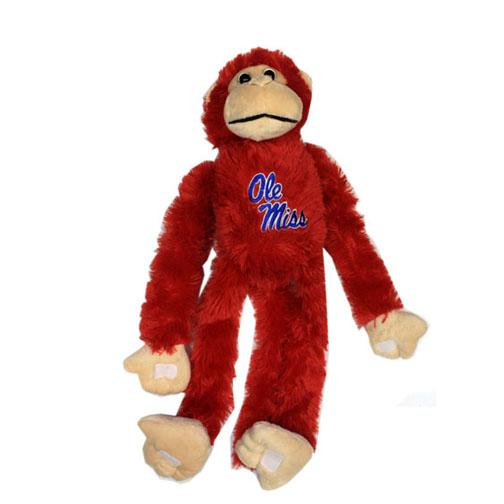 Ole Miss Plush Monkey