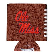 OLE MISS FOOTBALL TEXTURE KOOZIE