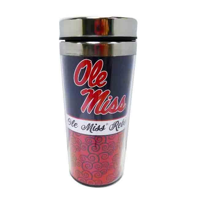 Ole Miss Rebels Travel Mug