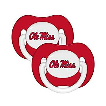 Ole Miss Pacifier 2 Pack