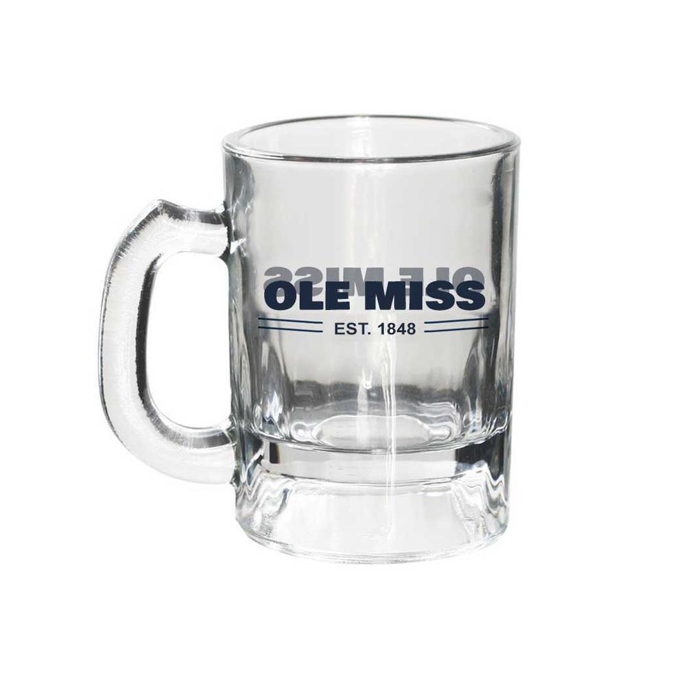 Ole Miss Mini Mug Shot Glass