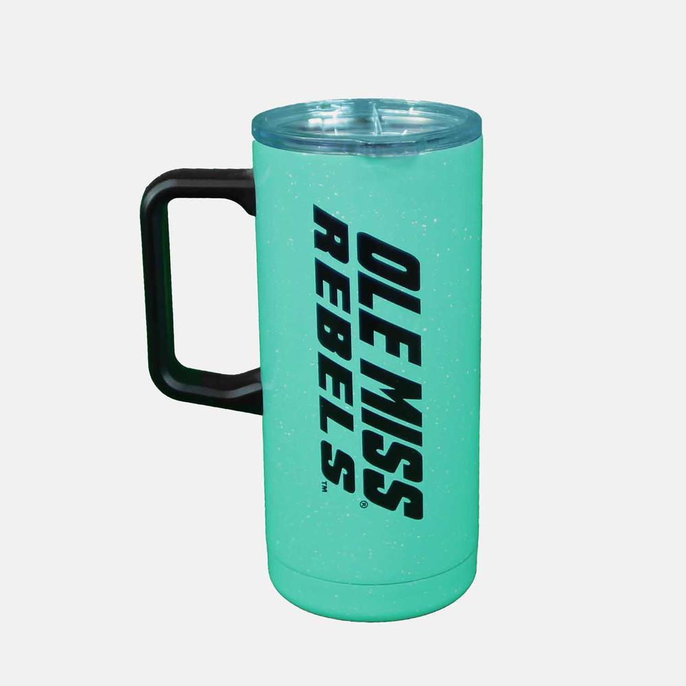 Ole Miss Speckled Travel Mug