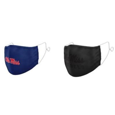 2 PACK OLE MSIS FACE MASK