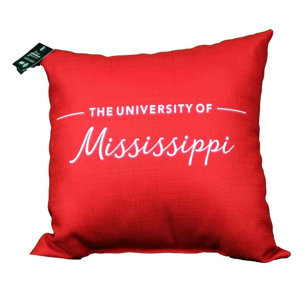 Ole Miss 18x18 Indoor Sublimated Pillow