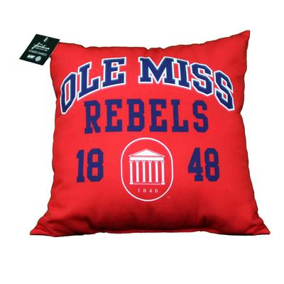 OLE MISS 17X17 OUTDOOR PILLOW