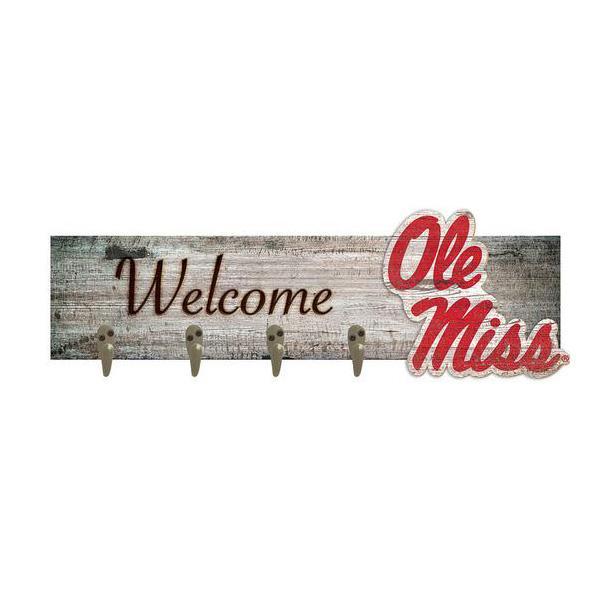 Ole Miss Welcome Coat Hanger