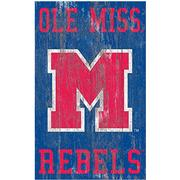 OLE MISS HERIT DISTRESSED LOGO