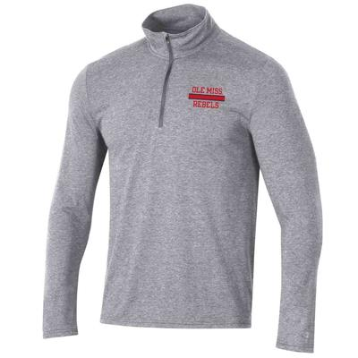 OLE MISS REBELS MENS FIELD DAY QTR ZIP