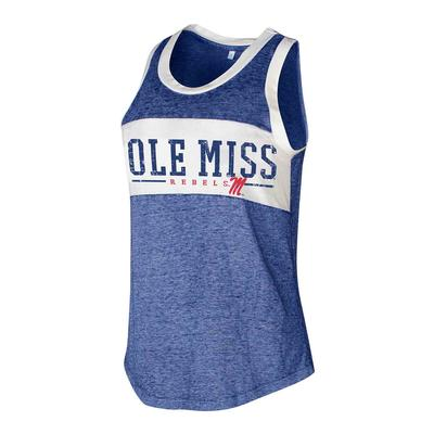 OLE MISS LOYALTY KNIT TANK TOP