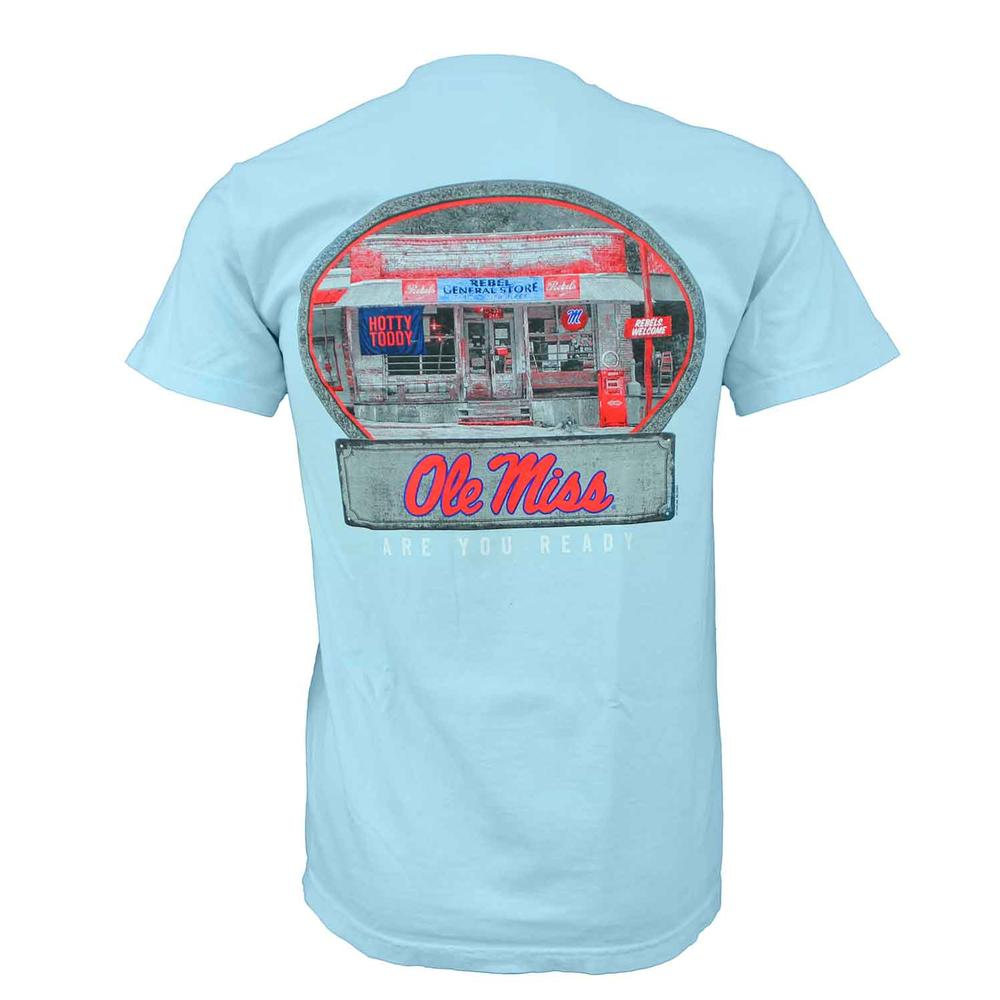 Ole Miss General Store Ss Comfort Colors Tee
