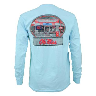 OLE MISS GENERAL STORE LS COMFORT COLORS TEE