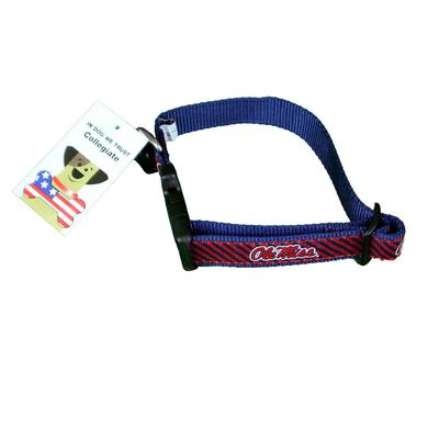 OLE MISS DOG COLLAR