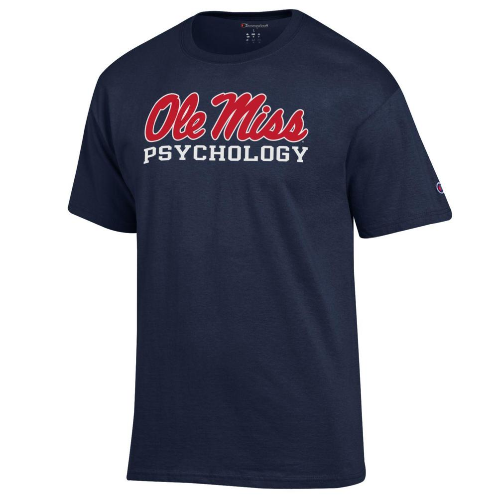 Ss Basic Script Ole Miss Psychology Tee